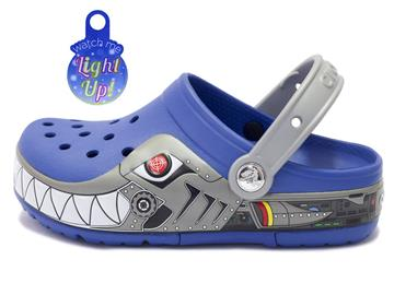 Crocs Robo shark Blue