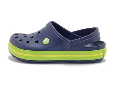 Crocs Crocband Navy/VGreen